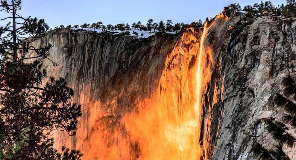 سرچشمه آبشار مرگبار یوسمیت