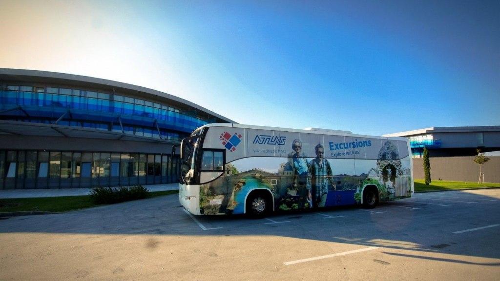 راه های دسترسی به فرودگاه دوبرونیک با اتوبوس