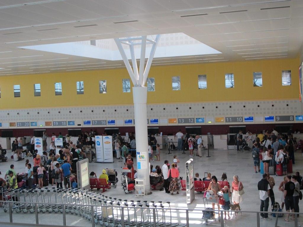 ترمینال های فرودگاه بوردو