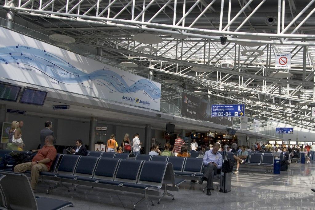 امکانات فرودگاه بوریسپیل