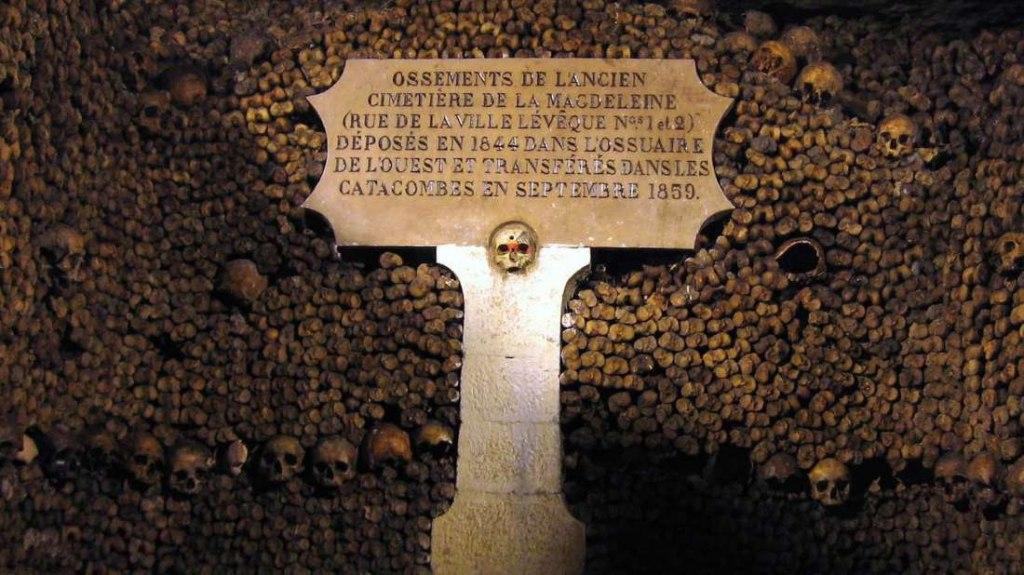 گورستان زیر زمینی کاتاکومب پاریس