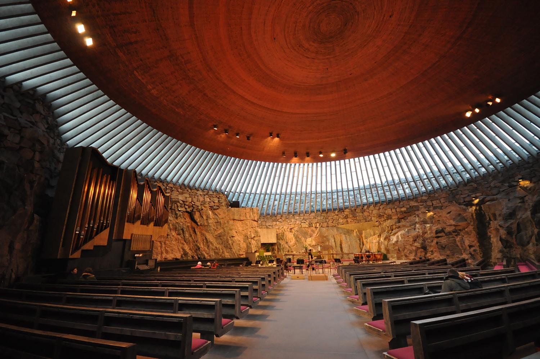 کلیسای تمپلیاکیو فنلاند