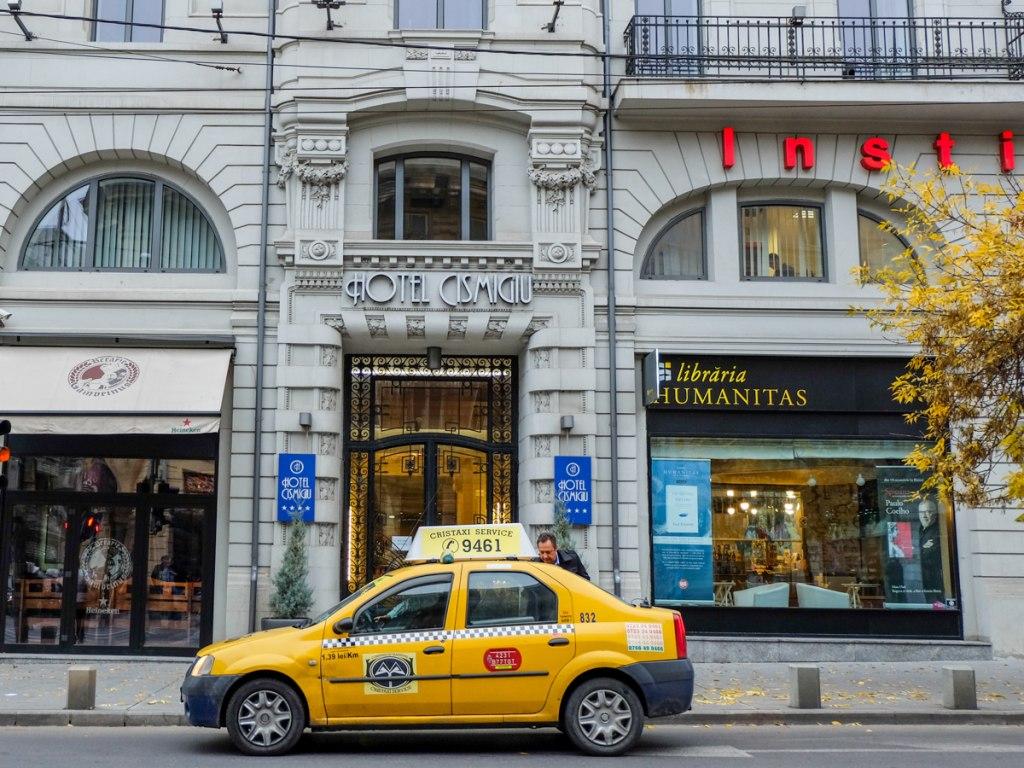 تاکسی در بخارست