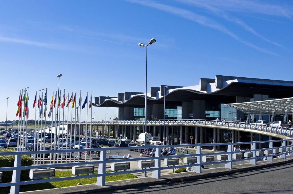 موقعیت فرودگاه بوردو