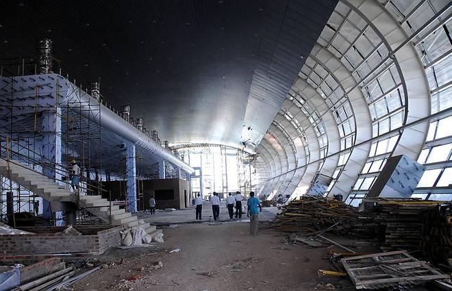 تاریخچه فرودگاه تریواندروم