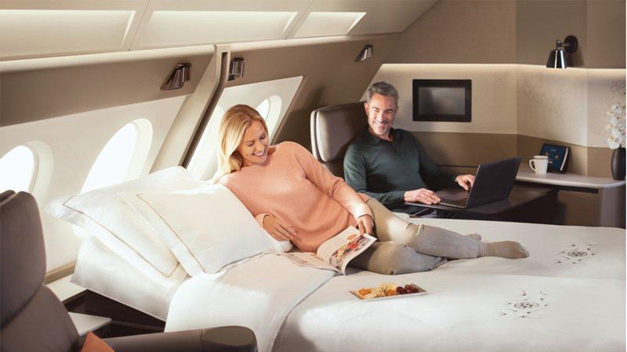 هواپیما با تخت خواب