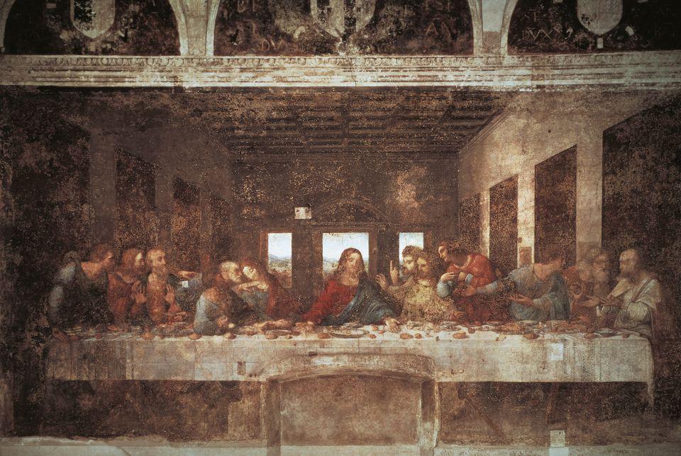 تابلوی شام آخر لئوناردو داوینچی