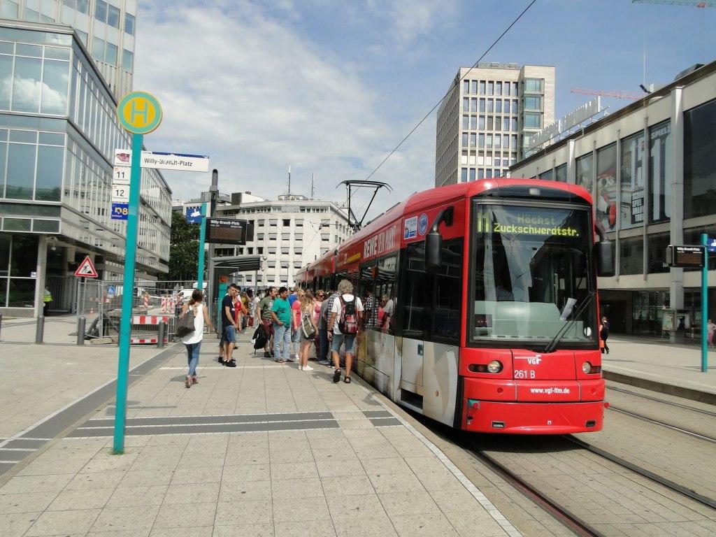 حمل و نقل در فرانکفورت