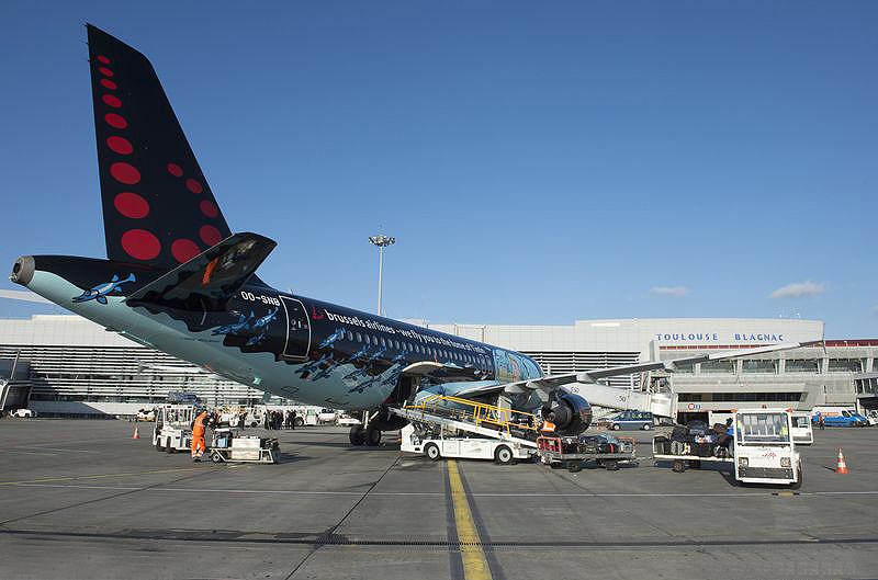 تصادف های صورت گرفته در فرودگاه تولوز