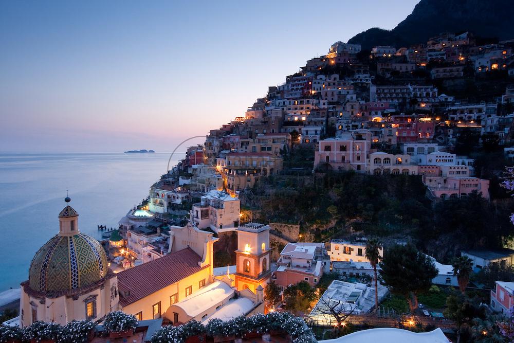 ساحل آمالفی در ایتالیا
