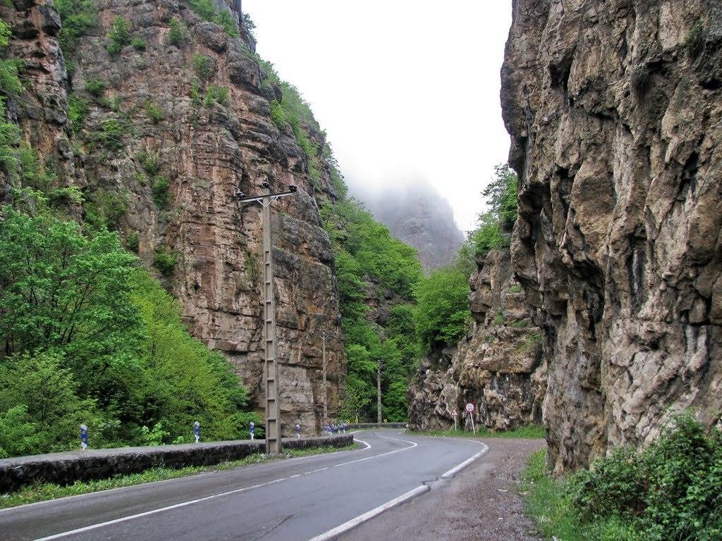 جاده چالوس در ایران