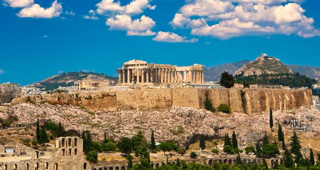 شهر آتن در کشور یونان