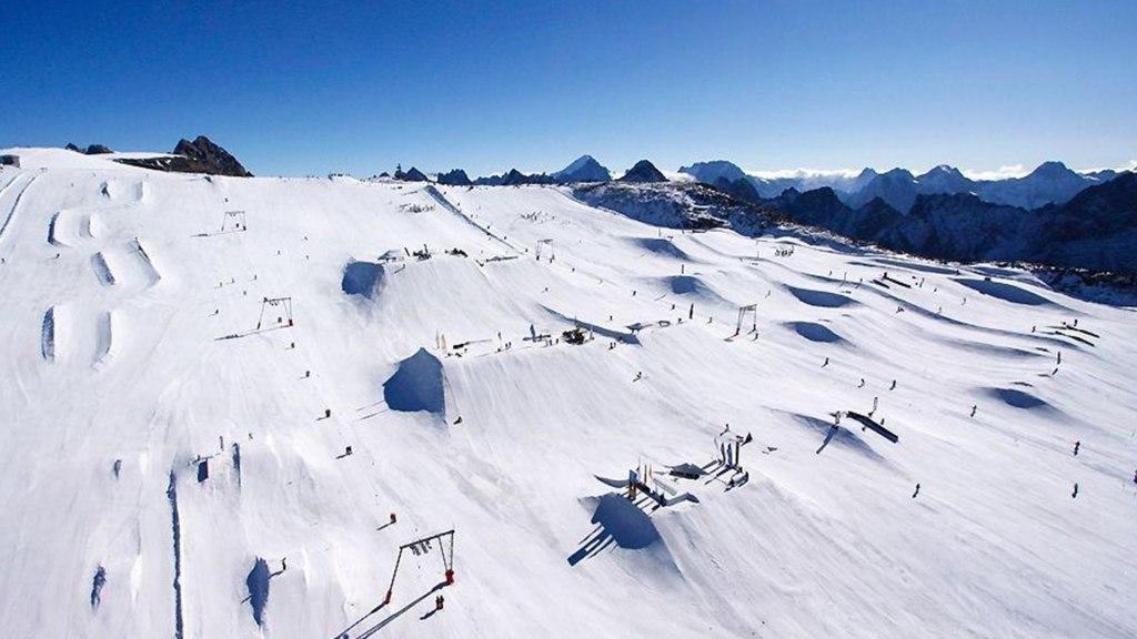 پیست اسکی Les 2 Alpes در فرانسه