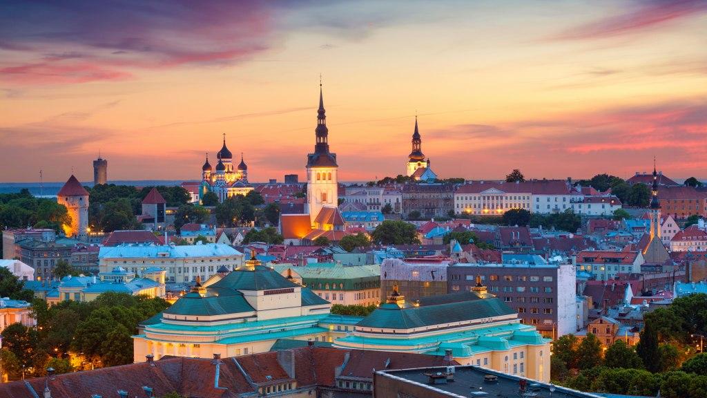 شهر تارتو در کشور استونی