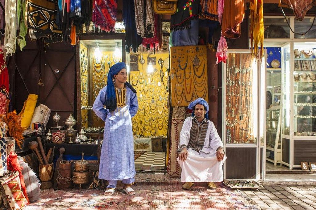 لباس محلی مردم مراکش