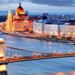 رودخانه ی زیبای دانوب با گذر از چندین کشور اروپایی
