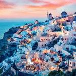 جزیره تماشایی سانتورینی یونان