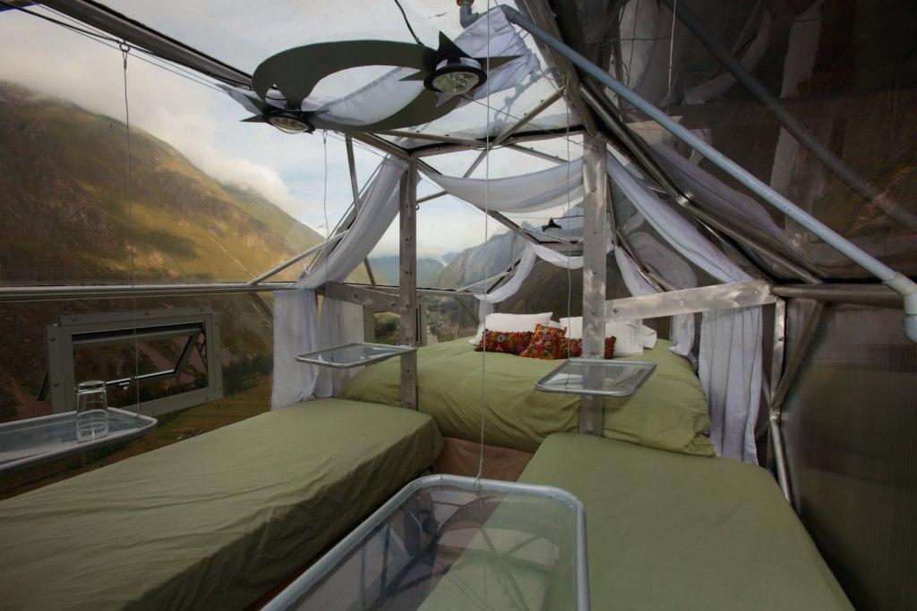 آیا جرئت خوابیدن در این اقامتگاه ها را دارید ؟
