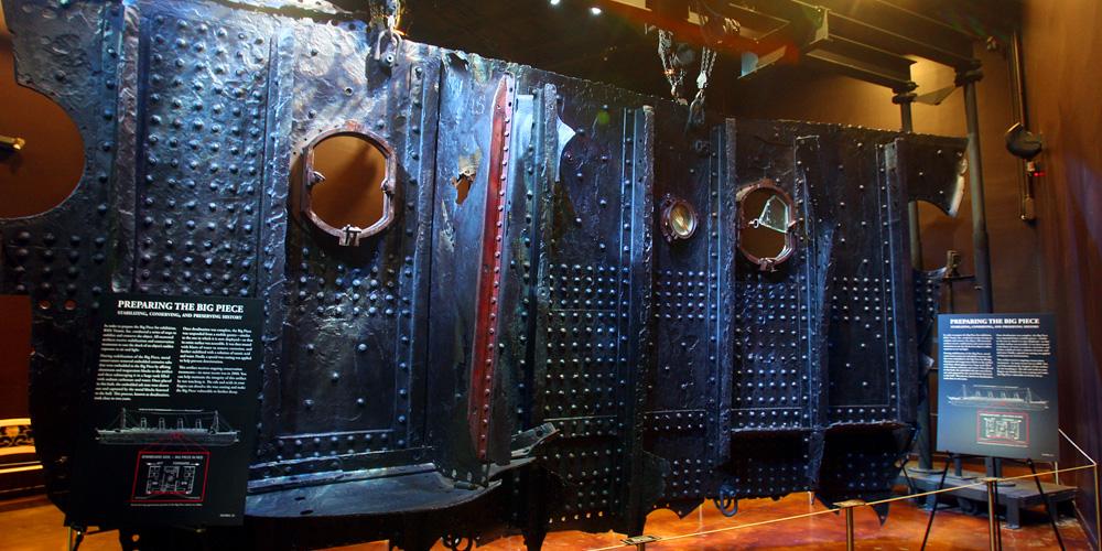 بازدید از موزه ی تایتانیک (Titanic Museum)
