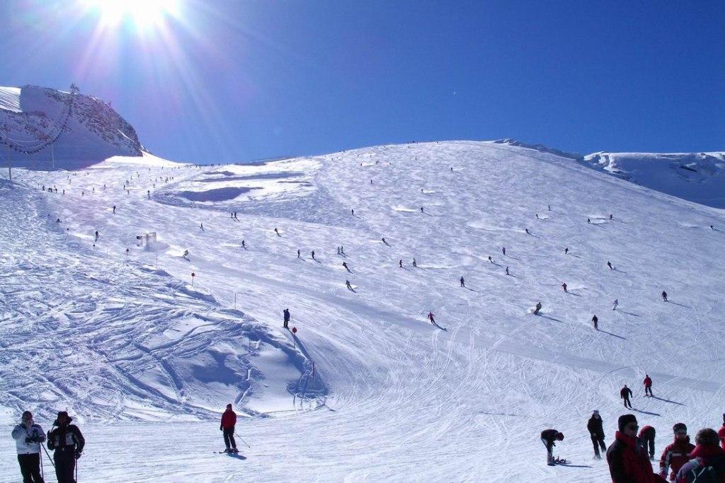 پیست اسکی Hintertux Glacier در استرالیا
