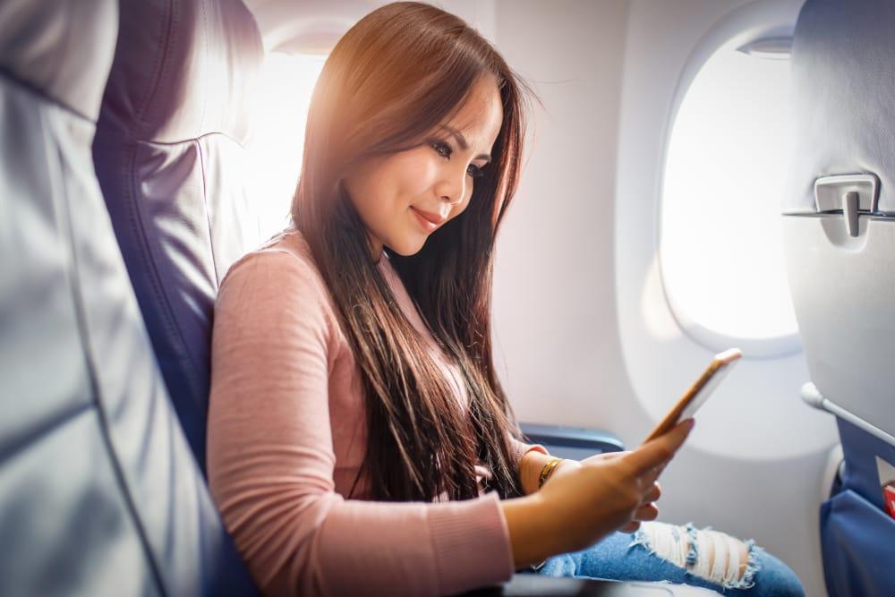 لباس در هواپیما