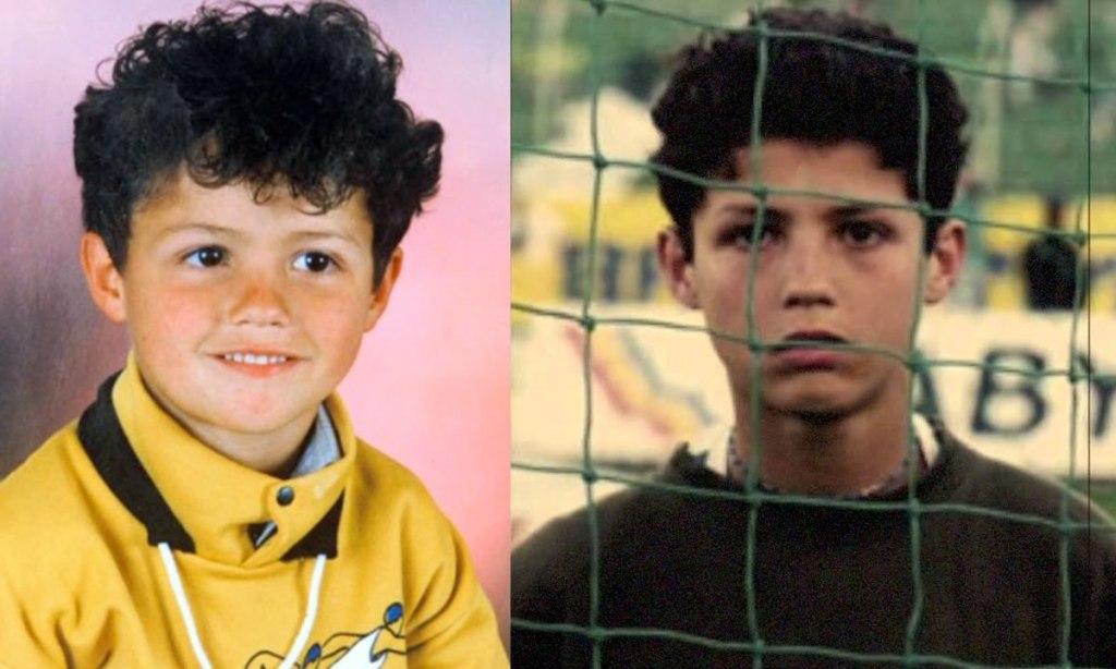کریس رونالدو در کودکی