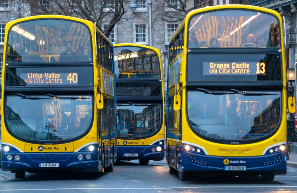 اتوبوس شهری دوبلین