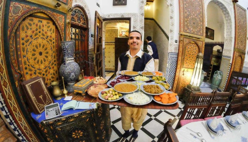 غذاهای محلی در کشور مراکش