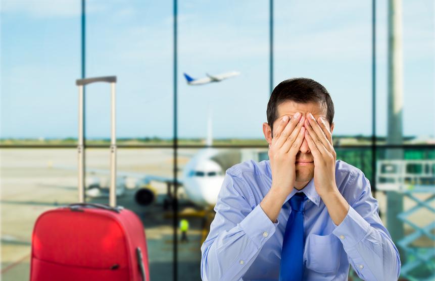 استرس در سفر