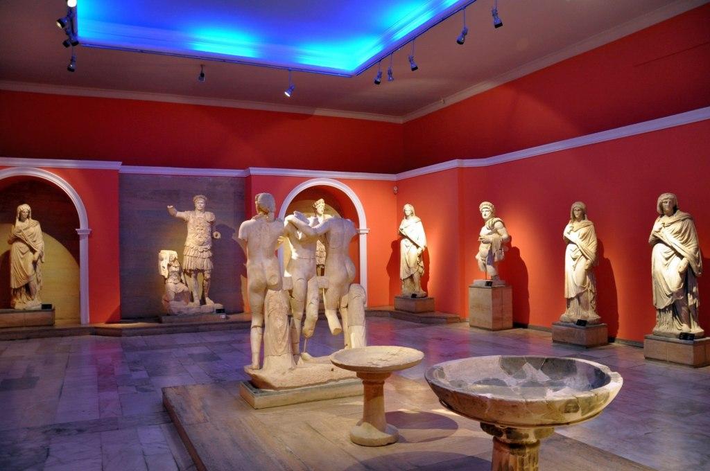 تاریخچه موزه آنتالیا