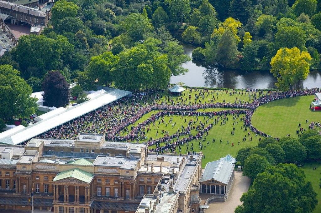 باغهای سلطنتی کاخ باکینگهام لندن