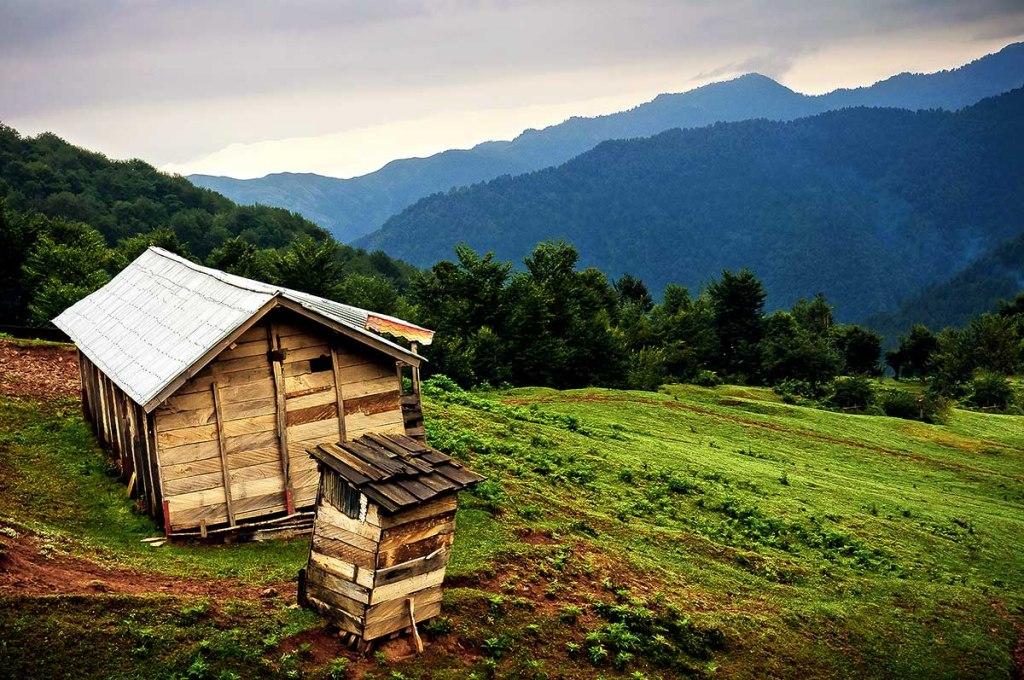 کلبه های چوبی ماسال