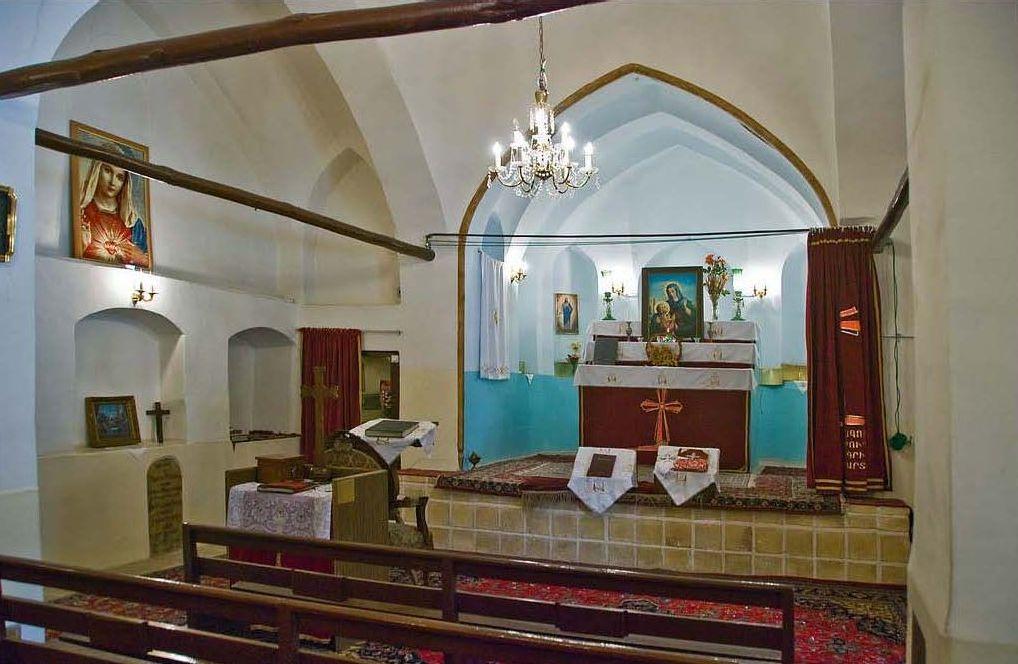 کلیسای تادئوس و بارتوقیمئوس مقدس اولین کلیسای ارامنه در تهران | Saint Thaddeus Church