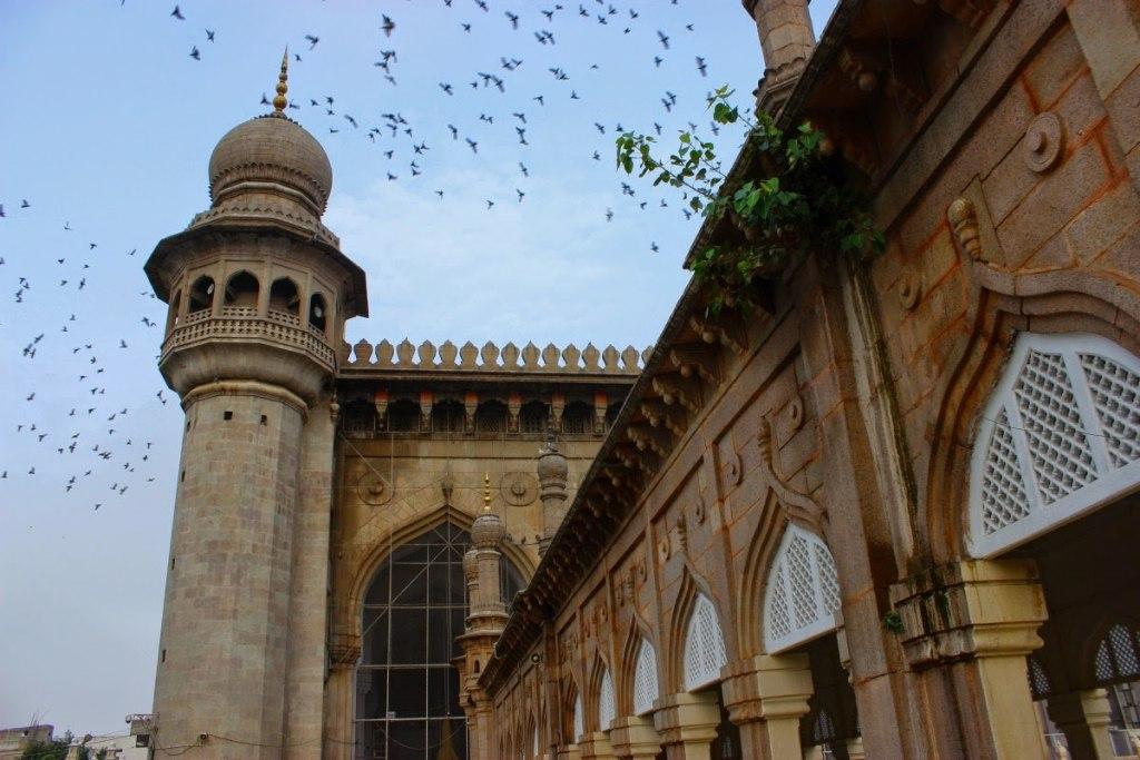 6- مسجد مکه | Makkah Masjid, Hyderabad