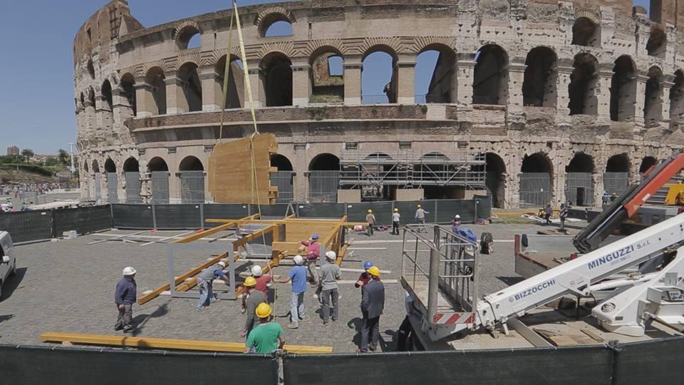 بازسازی کولوسئوم روم