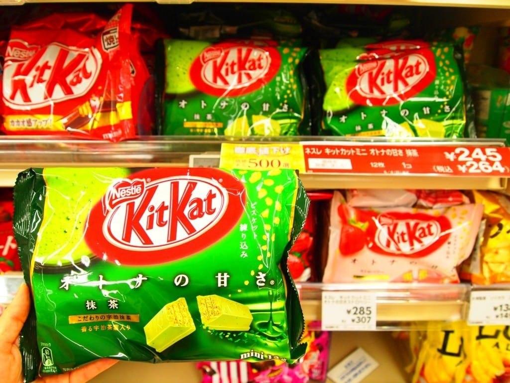کیت کت با طعم چای سبز، ژاپن