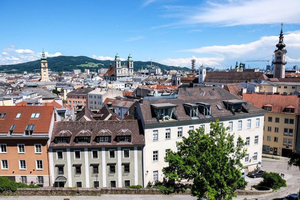 جغرافیا و موقعیت شهر لینتس اتریش