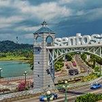 جزیره تفریحی سنتوسا در سنگاپور