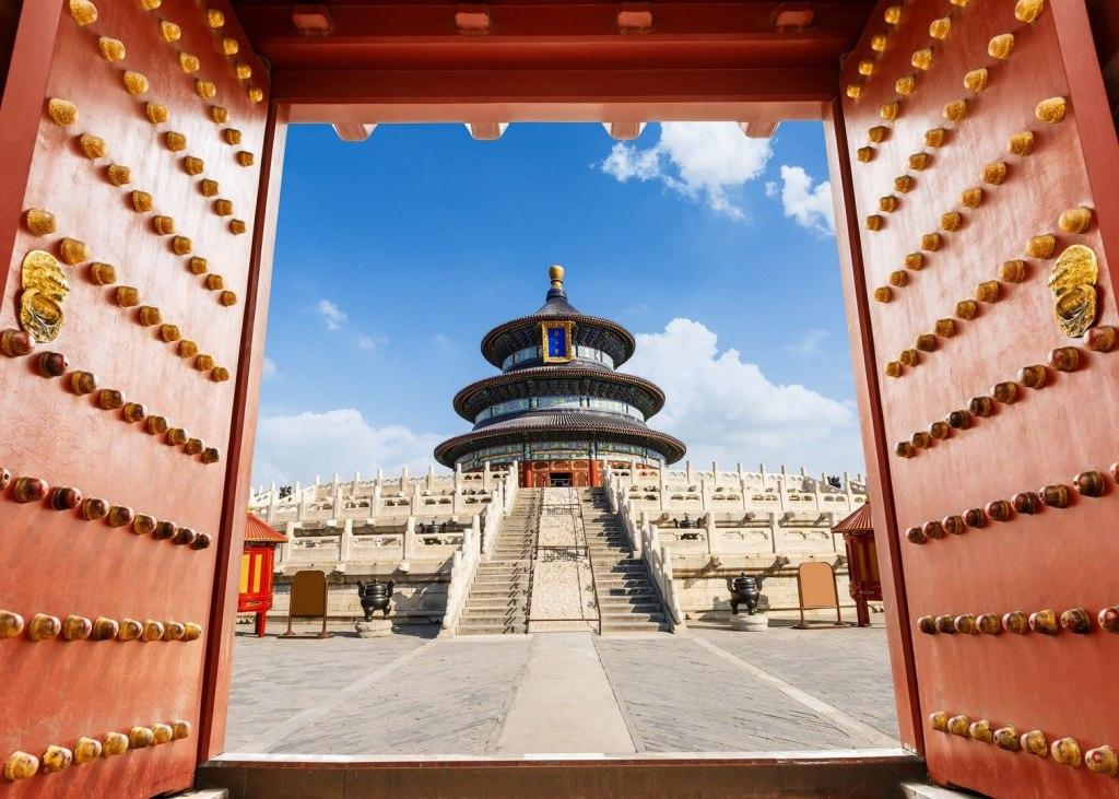 نمای معبد بهشت پکن