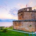 قلعه رومیان آنتالیا، همچون فانوسی دریایی