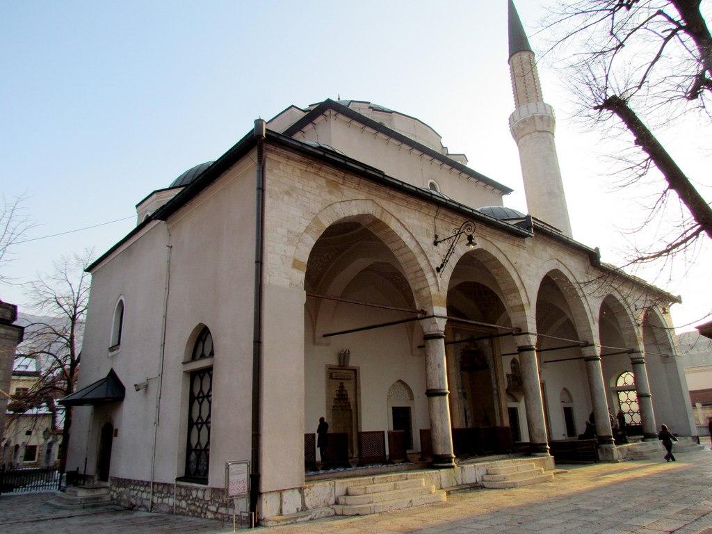 مسجد تاریخی شهر سارایوو