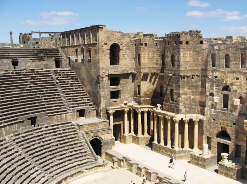 ویرانه های آموس مارماریس | Ancient City Amos