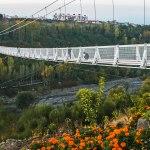 تجربه ای هیجان انگیز در پل معلق و شیشه ای مشگین شهر