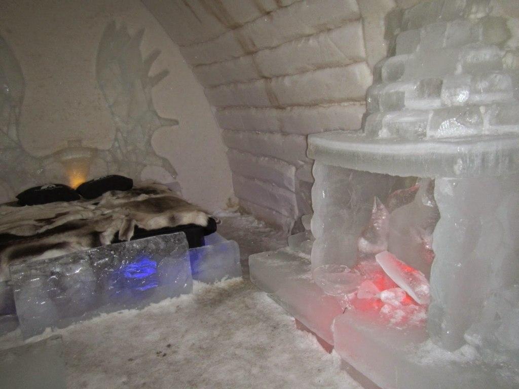 همه چیز در این روستا از یخ ساخته شده