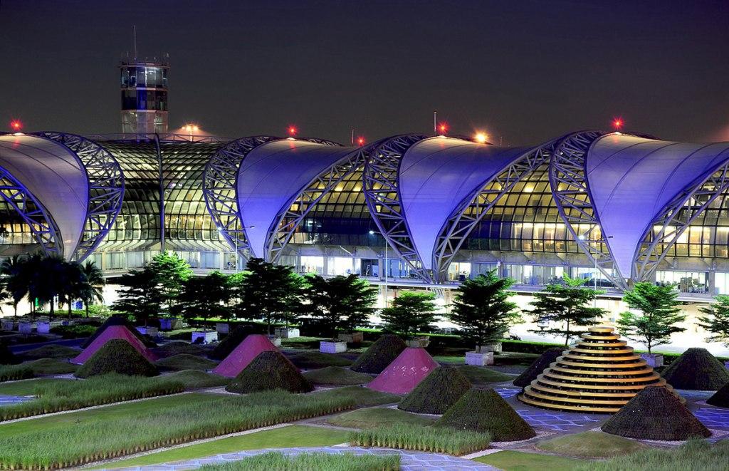 فرودگاه سووارنابومی بانکوک، شلوغ ترین فرودگاه تایلند