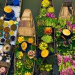 خریدی هیجان انگیز در بازارهای شناور تایلند