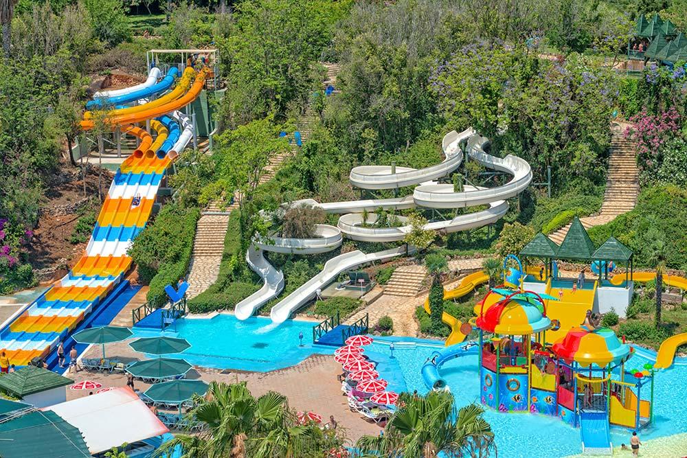 پارک آبی آکوالند آنتالیا، بزرگترین پارک آبی ترکیه