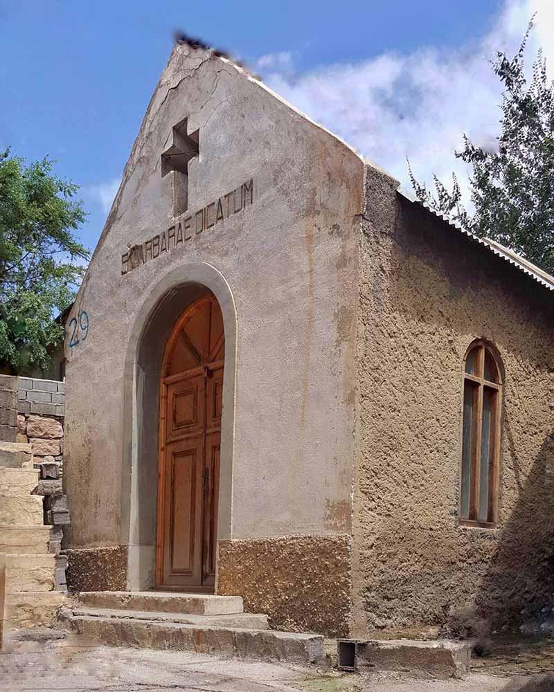 کلیسای سرخ آباد مازندران