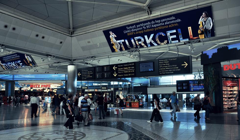 امکانات فرودگاه بین المللی آتاتورک