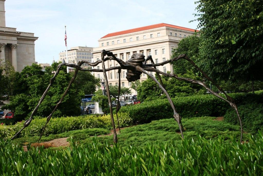 فضای باز و باغ نگارخانه ملی هنر آمریکا